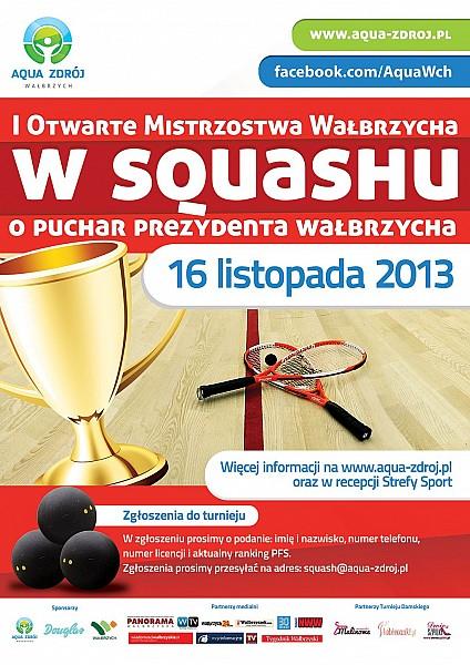 I Otwarte Mistrzostwa Wałbrzycha w Squashu