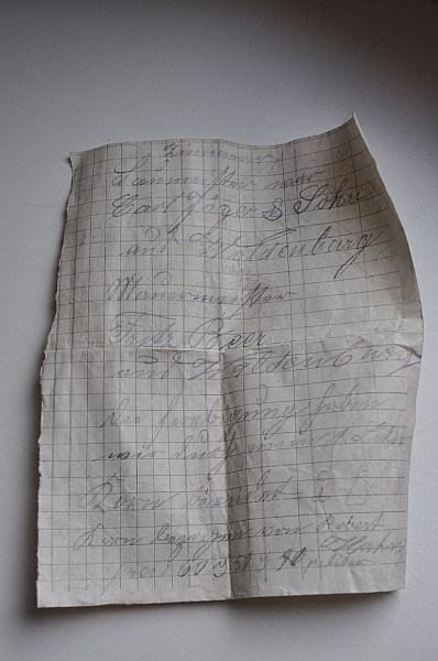 List znaleziony w wieży