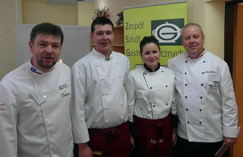 Wicemistrzowie kuchni regionalnej