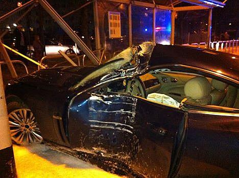 Wypadek na Podzamczu - zdjęcia
