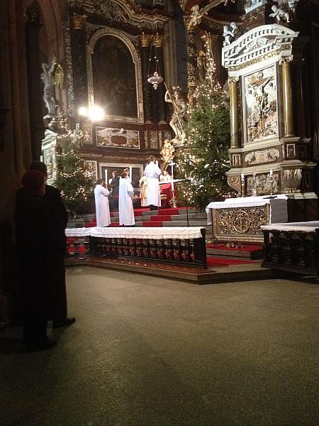 Pasterka w katedrze