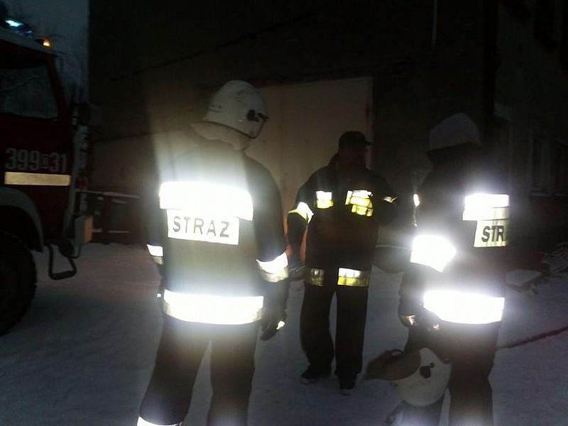 Pożar w Głuszycy