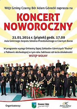 Górnicza muzyka w Czarnym Borze