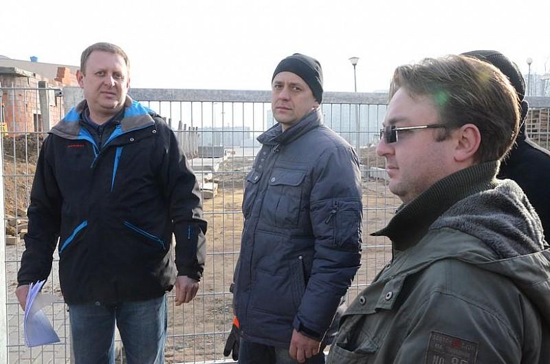 Grożą blokadą budowy boiska