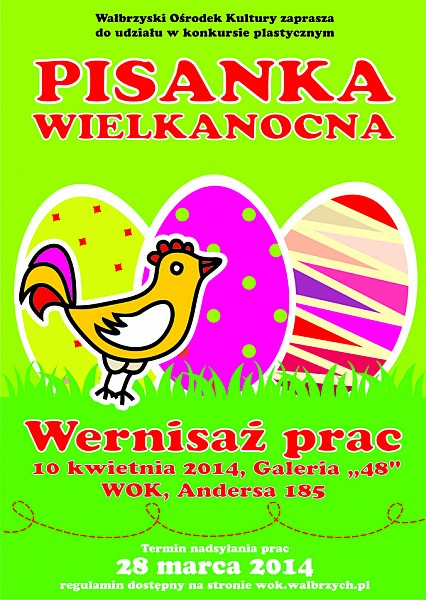 """Konkurs plastyczny """"Pisanka Wielkanocna"""""""