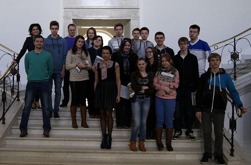 Żywa lekcja w Sejmie
