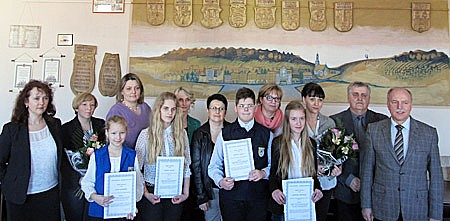 Nagrodzono najlepszych uczniów