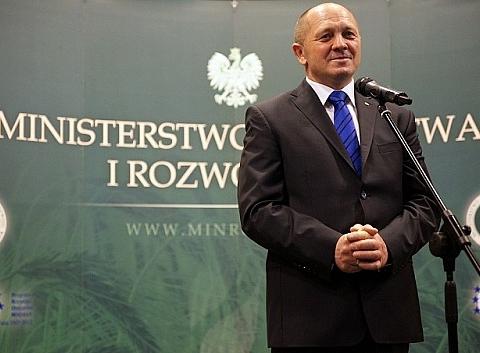 Marek Sawicki w Bielawie
