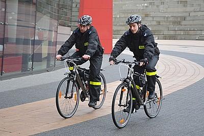 Rowerowy patrol