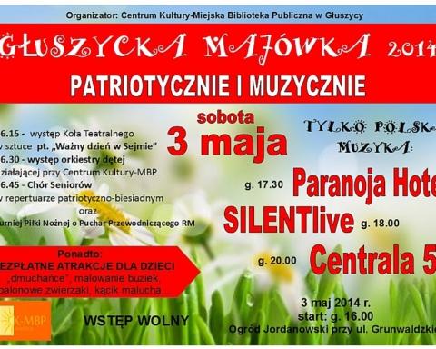 Majówka w Głuszycy