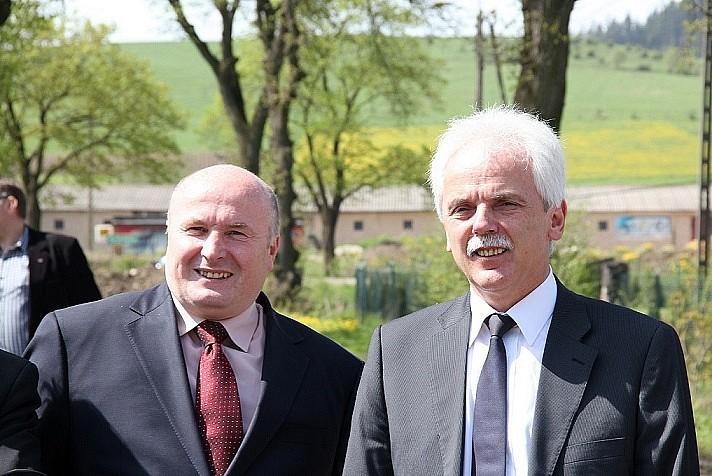 Minister odwiedził Czarny Bór