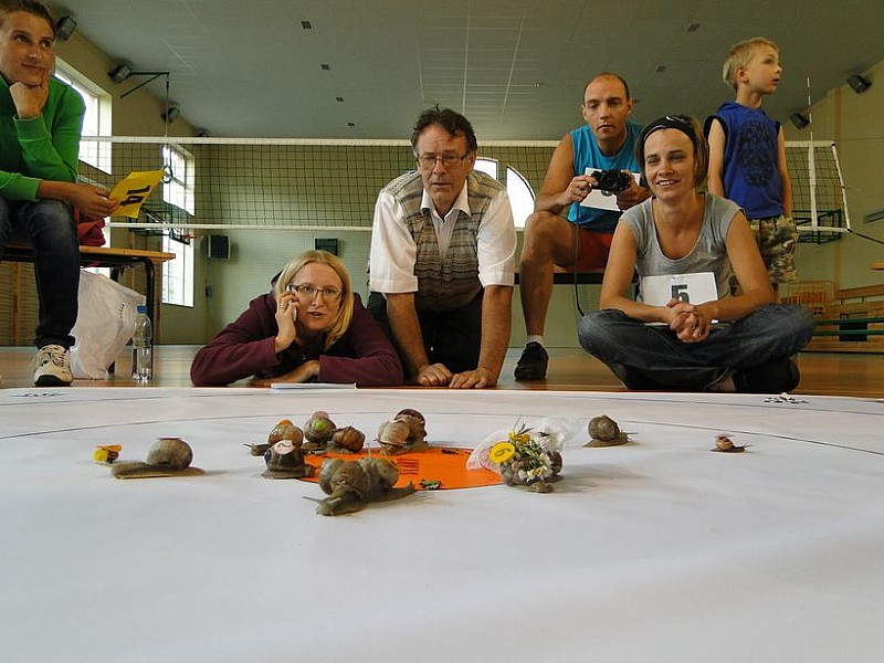 III Wyścig Ślimaków Winniczków