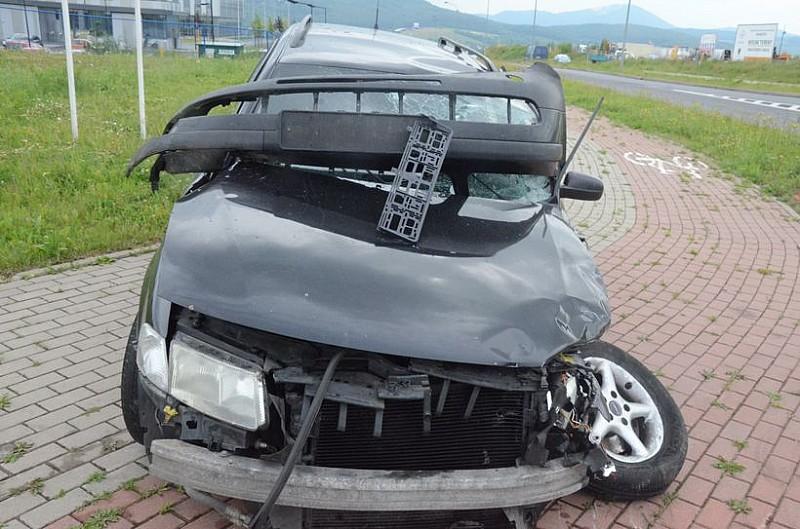 Wypadek koło Mando - video