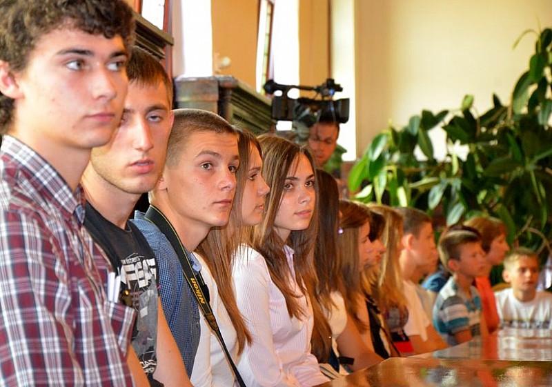 Młodzież z Ukrainy w Wałbrzychu