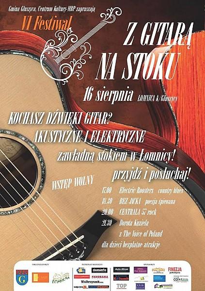 VI Festiwal z Gitarą na Stoku