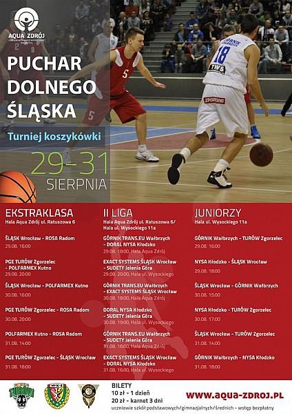 Turniej koszykówki Puchar Dolnego Śląska