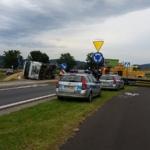 Wypadek na rondzie