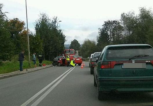 Wypadek w Jedlinie - Zdroju