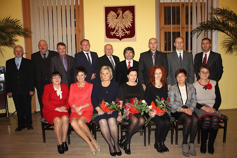 Uroczysta sesja w Boguszowie - Gorcach