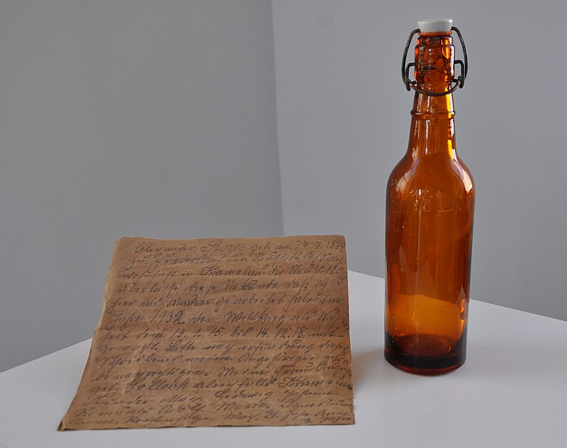 Stary list w Starej Kopalni