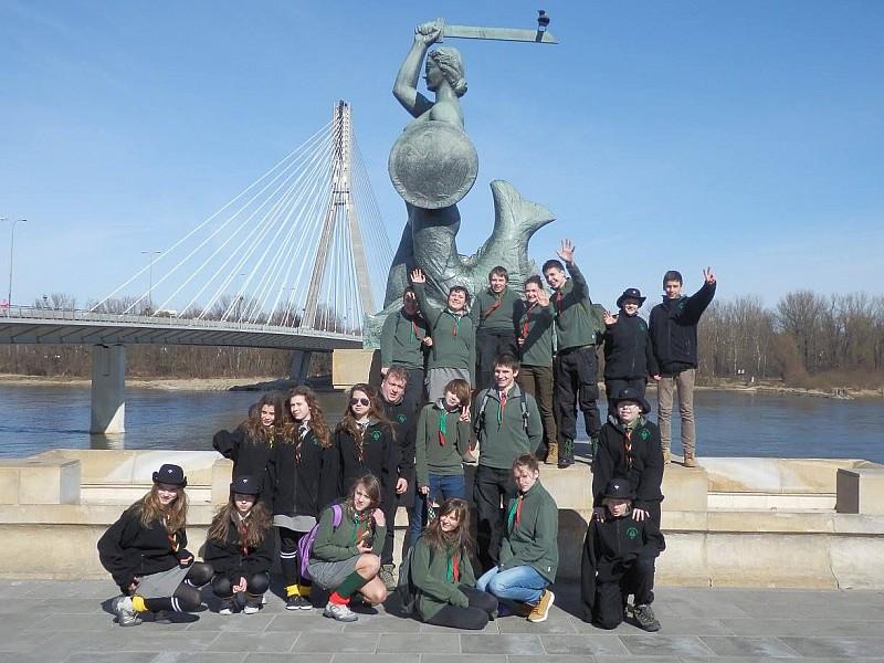 Wałbrzyscy harcerze w Sejmie
