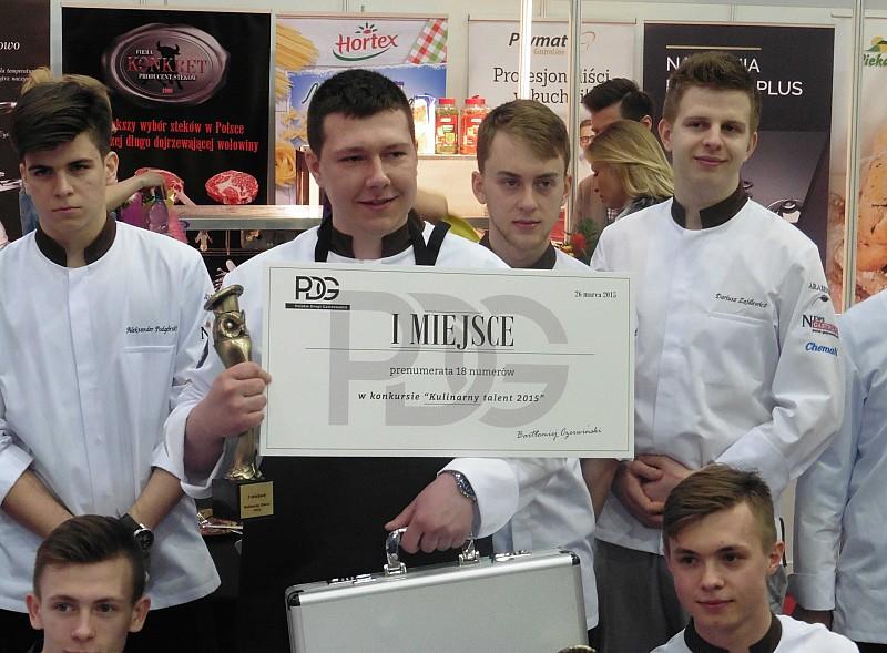 Wałbrzyszanin kulinarnym talentem roku