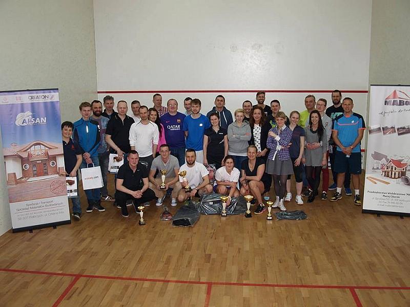 Udany turniej squasha...