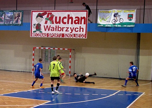 Halowy turniej piłkki nożnej