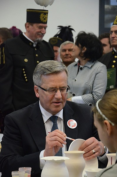 Prezydent RP odwiedził Wałbrzych - foto