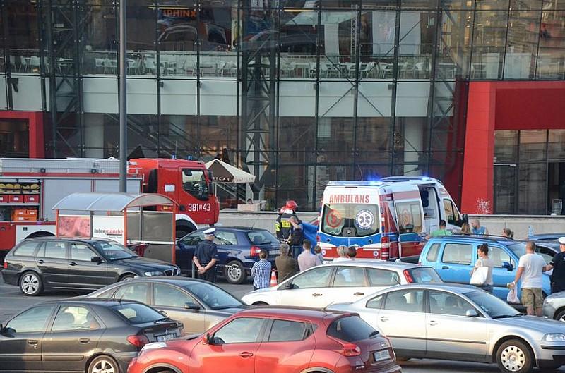 Na parkingu galerii zginęło dziecko