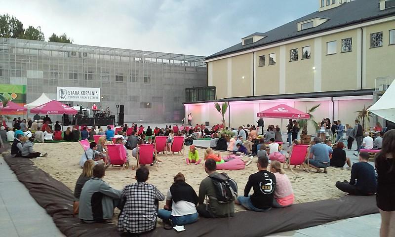 Miejska plaża otwarta