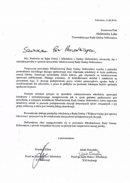 Aktywna młodzież z Dobromierza
