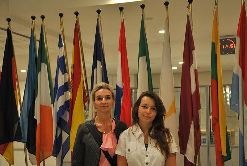 Odwiedziła Europarlament