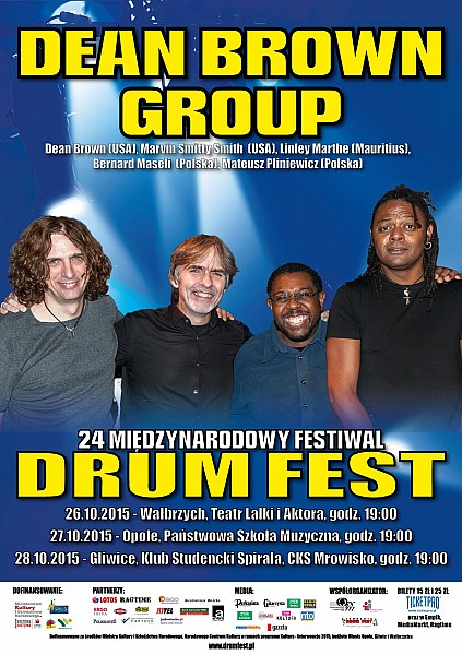 Koncert Dean Brown Group