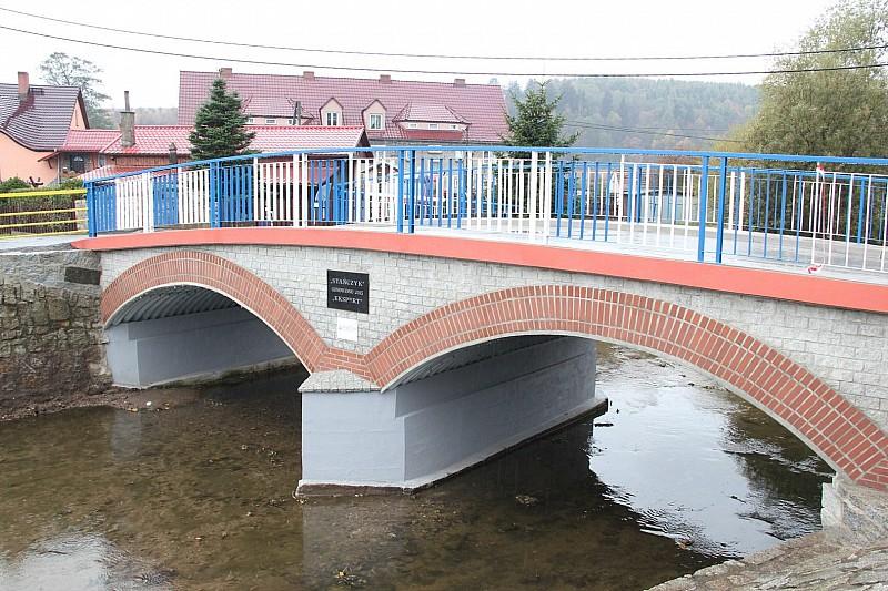 """""""Nowy"""" most na Lesku"""