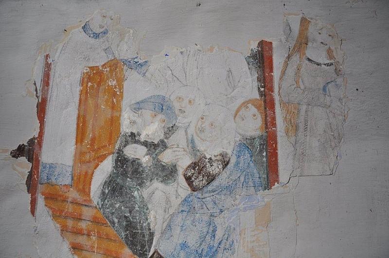 Odkryli malowidła z XV wieku