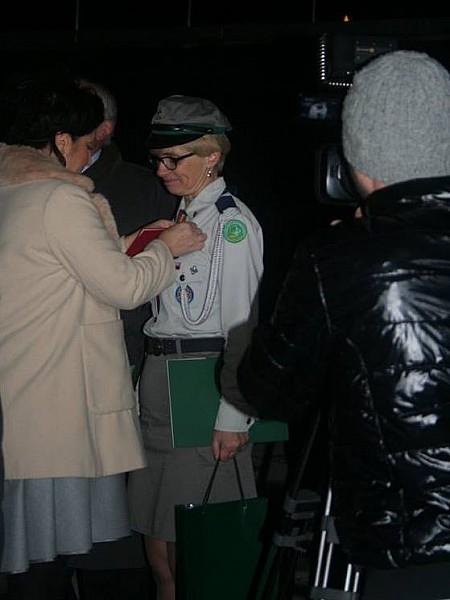 Komendantka z medalem