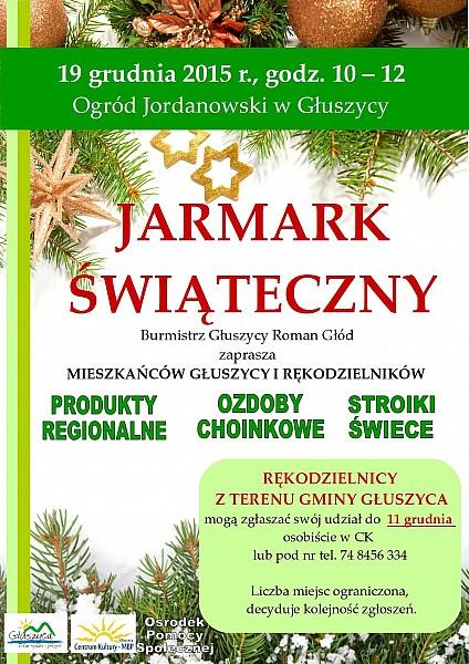 Świąteczny jarmark w Głuszycy