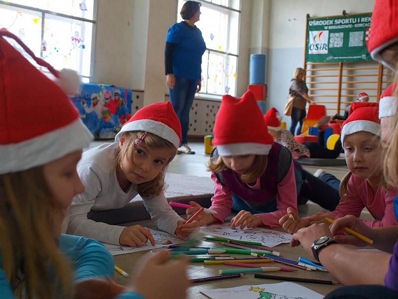 Mikołaj w Boguszowie - Gorcach