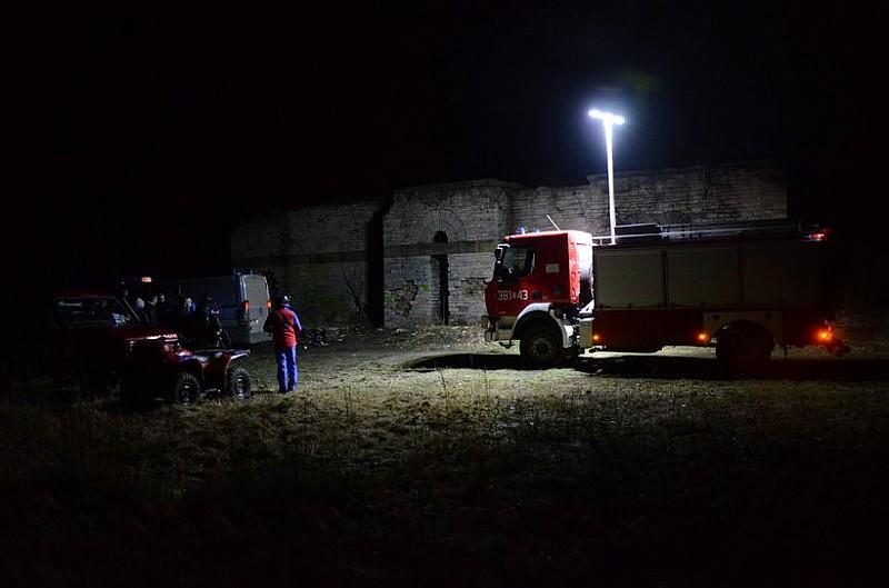 Nocne poszukiwania 18-latka - zdjęcia