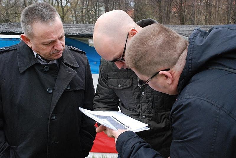 Odkrycie na boisku w Głuszycy