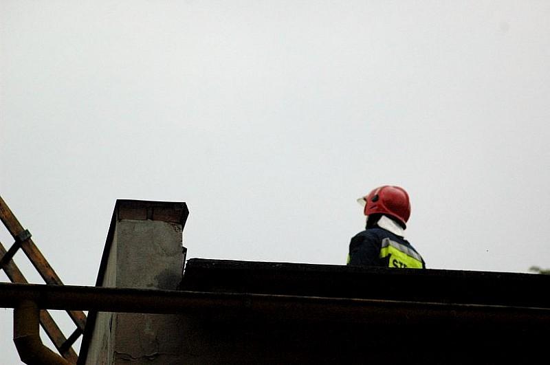 Pożar w wałbrzyskim ZUS-ie