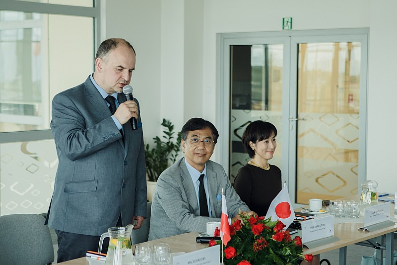 Ambasador Japonii w Wałbrzychu