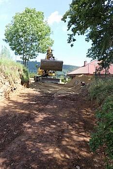 Odbudowa drogi
