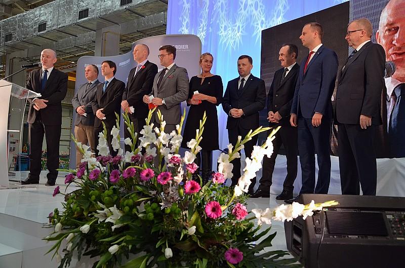 Bombardier otwiera nową halę