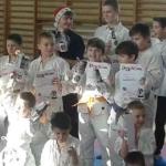 Mikołajkowy turniej karate